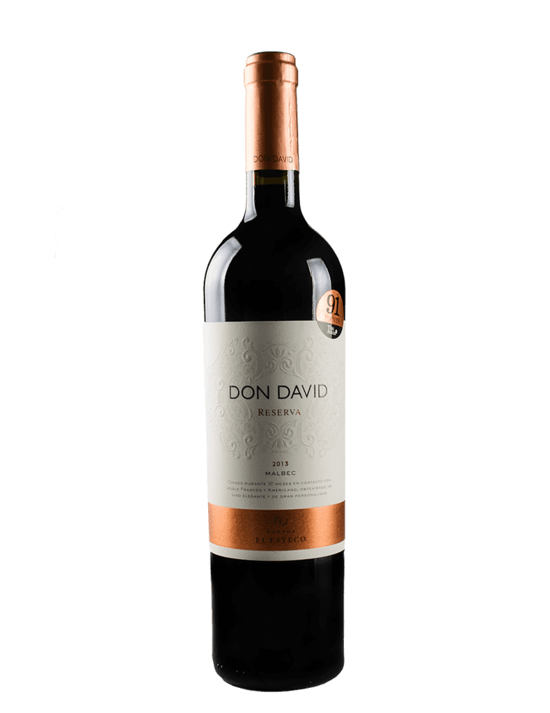 DON DAVID RESERVA MALBEC 2013