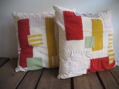 Almohadones patch colores