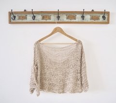 Sweater playero beige