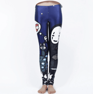 Leggings Ghibli en internet