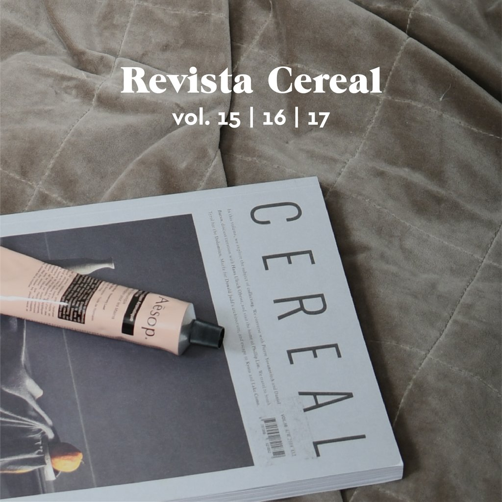 Promo! Pack x 3 Revistas Cereal