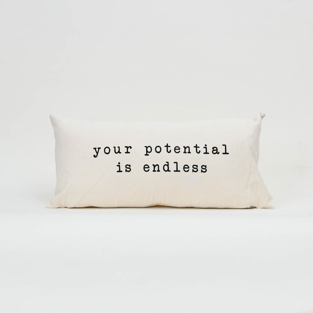 Almohadon 60 x 30 Your Potential Is Endless