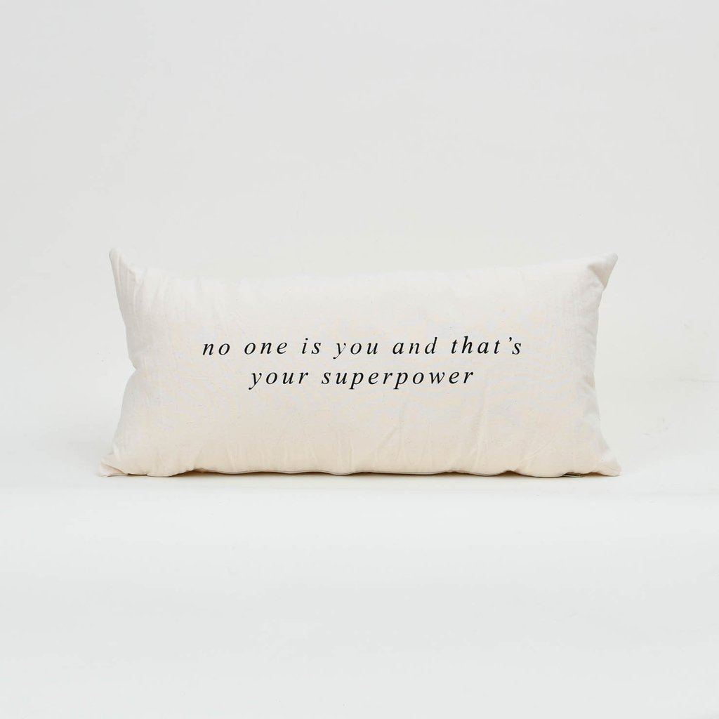 Almohadon 60 x 30 No one Is You