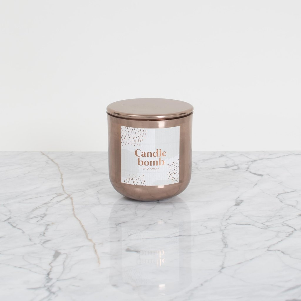 New CANDLEBOMB: Smells like Lotus Garden