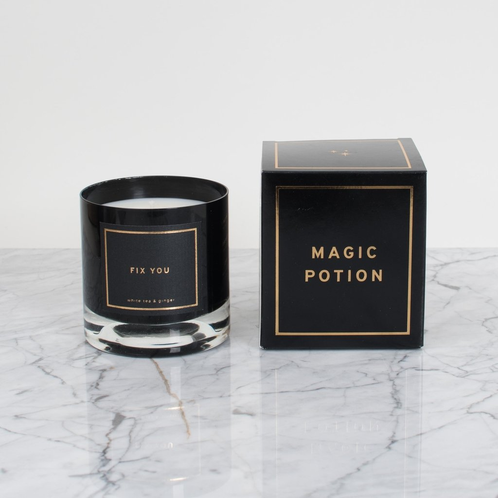 Magic Potion: Fix You: Smells like white tea & ginger