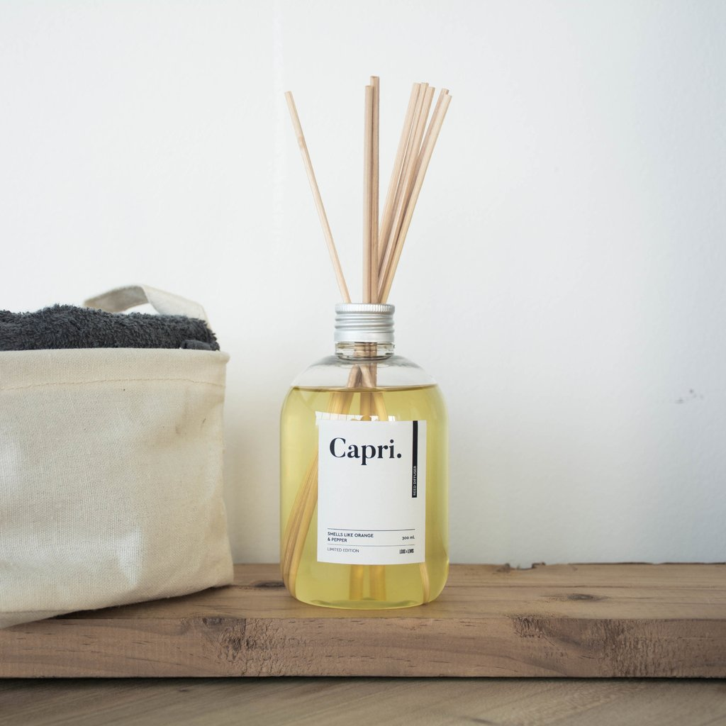 Difusor Capri: White Tea & Ginger