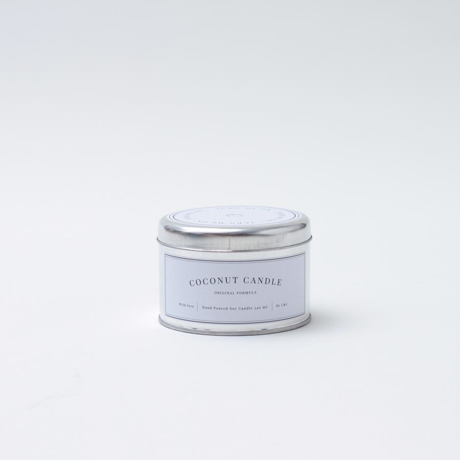Coconut Candle Lata