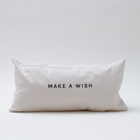 Almohadon Make a Wish 60x30