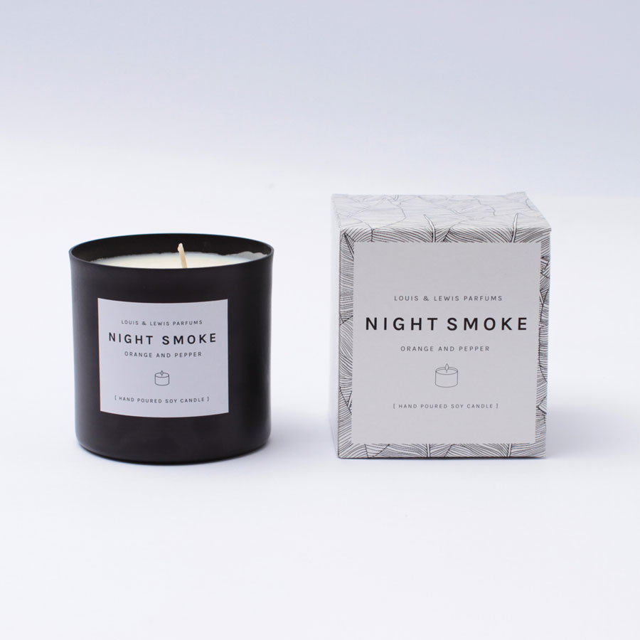 Vela Night Smoke: Orange & Pepper