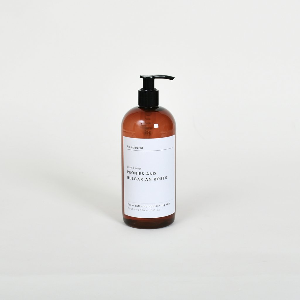 Liquid Soap x 500 ml.: Peonies & B. Roses