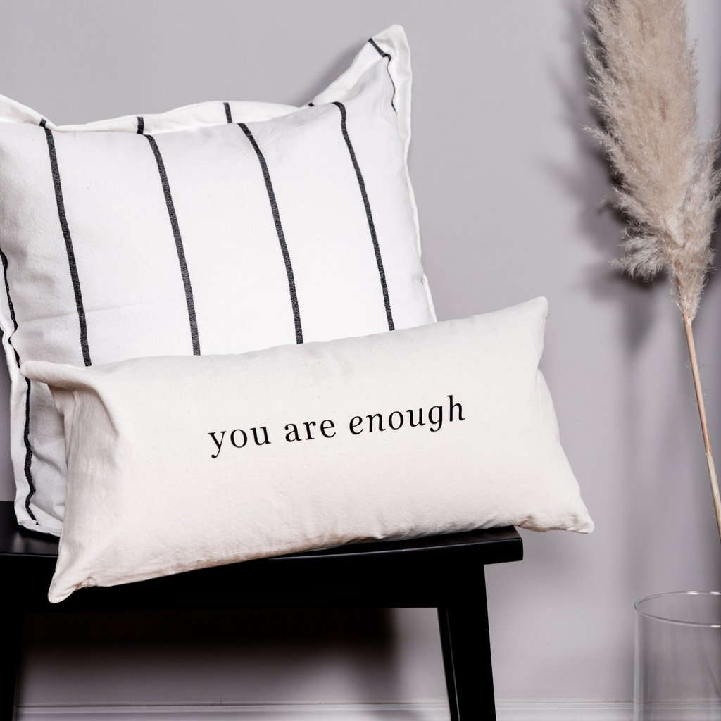 Almohadon 60x30 You Are Enough