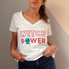 Remera Witch Power Blanca