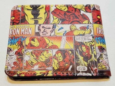 b1378350d Billetera Marvel - Iron Man