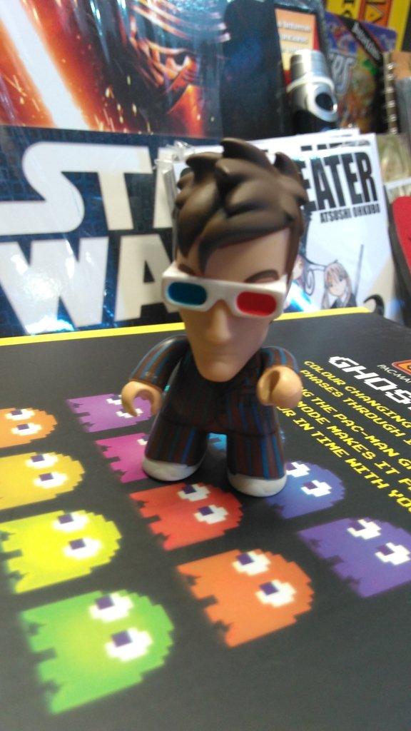 Mini figura  Undécimo Doctor - Dr. Who
