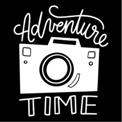 Adesivo Frase - Adventure Time na internet