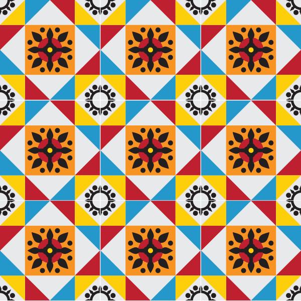 adesivo de azulejo mosaico portugus loja online