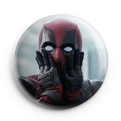 Boton Deadpool Surpreso