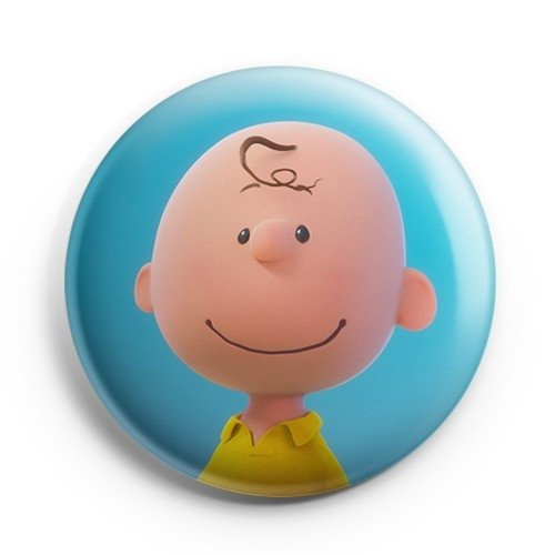 Boton Charlie Brown