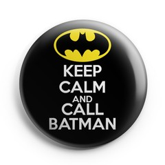 Boton Keep Calm Batman
