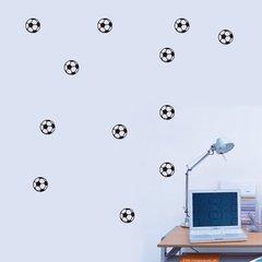 Adesivo de Parede Kit Bola de Futebol e376ed4aa9187