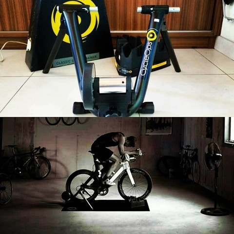 ROLO CYCLEOPS TRAINER - SEMI NOVO