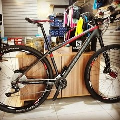 Bicicleta Cannondale 29 Lefty F3 XT com rodas Everest MGCi - SEMI NOVA