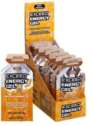 EXCEED ENERGY GEL – CAIXA 10 SACHÊS - loverun