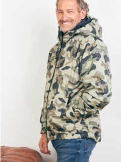Campera Rompeviento Brother Camuflado Kevingston - comprar online