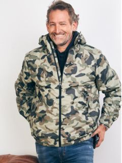 Campera Rompeviento Brother Camuflado Kevingston
