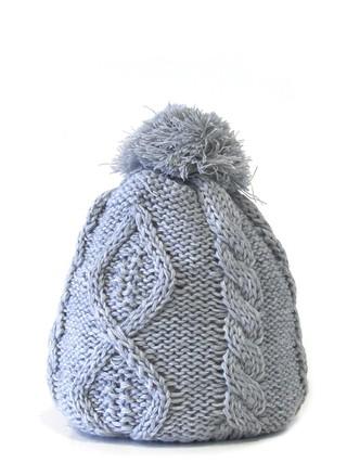 gorro lana trenzado pompon comprar online