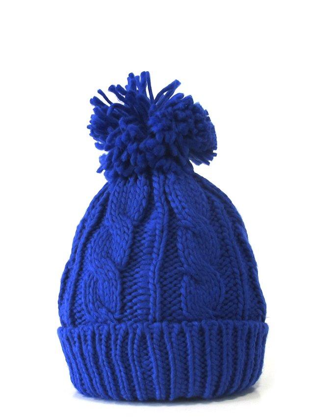 gorro lana con pompon comprar online