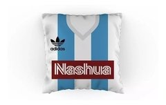 Almohadon tipo camiseta Racing Club retro Nashua