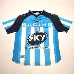 Camiseta Racing Club 2001 Campeon  Topper # 7