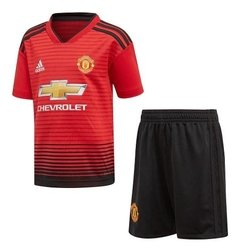 Camiseta Kit Niño Titular Manchester United + Short Regalo