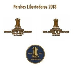 Parches Copa Libertadores 2018 final Boca-River