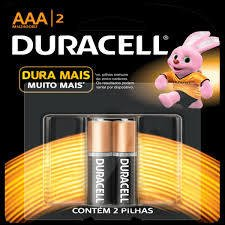 Pilhas AAA Duracell - 2 Unid.