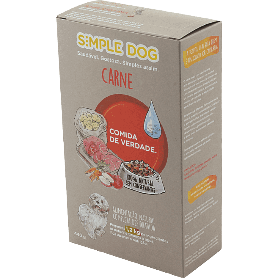 Simple Dog Carne 440 g