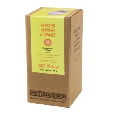 Biscoito Simple Dog Cenoura e Tomate