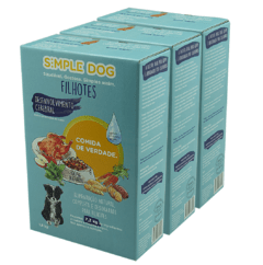 Combo Simple Dog Filhotes 5,4 kg