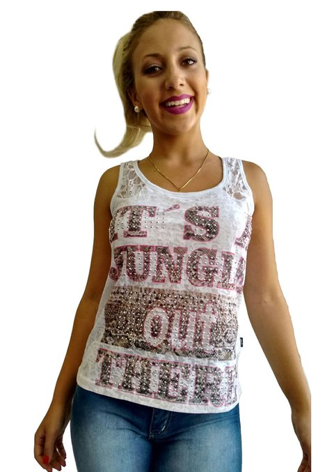 Blusa Feminina VB Girls Estampada