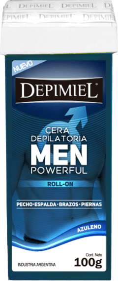 Roll On Cera Depilatoria Depimiel Men Power Full