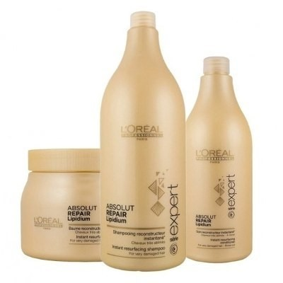 Loreal Absolut Repair Kit Shampoo + Acondicionador + Mascara