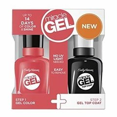 Sally hansen Miracle gel Duo coral carnival