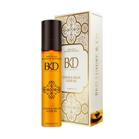 BKD LEGENDARY CAVIAR & ARGAN ELIXIR OIL 120 ml