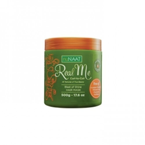 nuNAAT Blast of Shine Hair Mask real me curl to coil 500g
