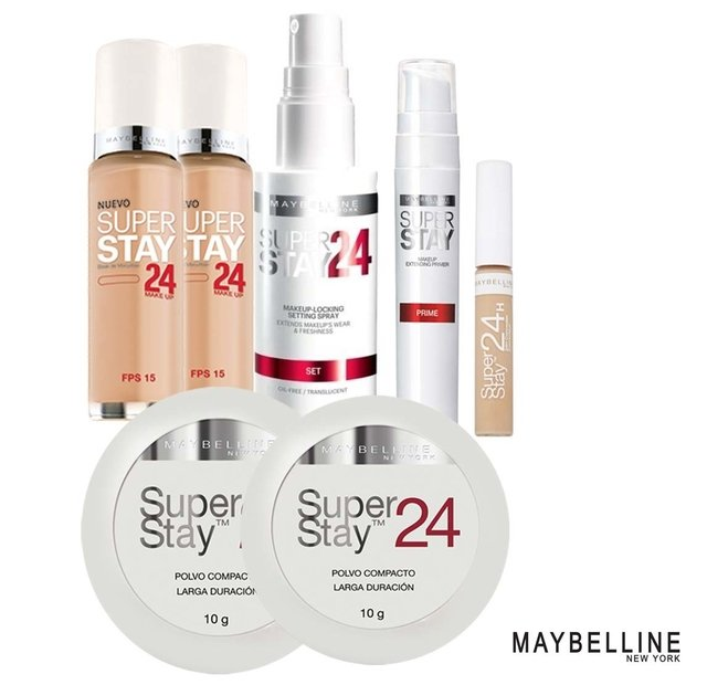 Combo maybelline super stay 24