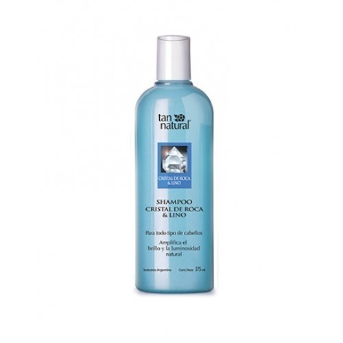 Tan Natural shampoo cristal de roca y lino 375 ml