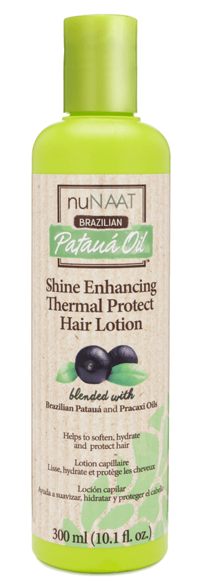 nuNAAT Shine Enhancing Thermal Protect Hair Lotion