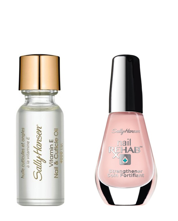 Sally Hansen Esmalte Nail Rehab Uñas  Dañadas + cuticle Care