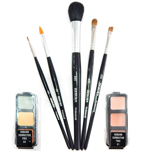 Heburn Kit Primario 7 productos Make Up